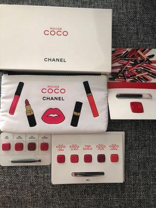 Chanel Rouge Coco lip Gloss colour 唇膏 彩