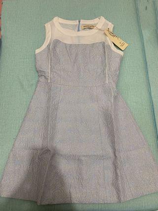 無袖連身裙