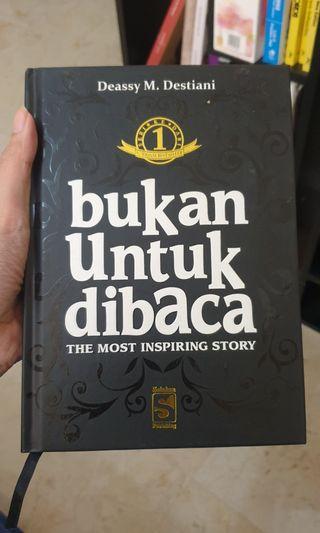 Bukan Untuk Dibaca by Deassy M. Destiani