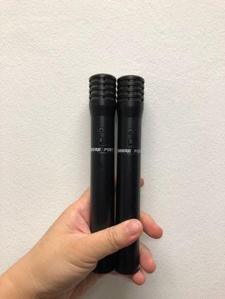 Shure PG81 Condenser Microphones