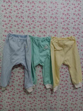 Celana bayi 3pcs