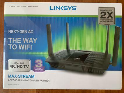 Linksys EA8100-AH Max Stream AC2600 wifi router (brand new)