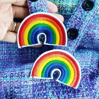 🚚 Pre-order: Rainbow Snap Ons for Tula New Style Hoods