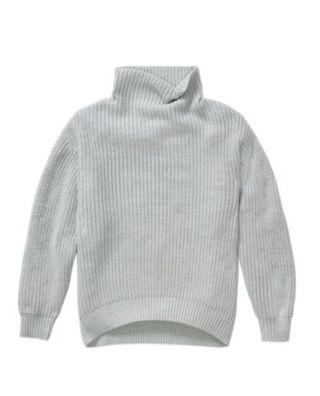 Used light grey Aritzia Wilfred Montpellier Sweater