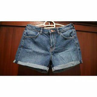 Denim hotpants h&m