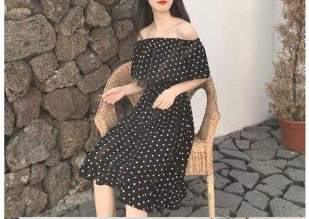 Polkadot Dress(3 style to wear)