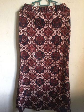 Batik printed Skirt