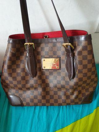 Louis Vuitton Hempstead Bag (Biggest Size)