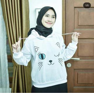 Cat sweater hoodie