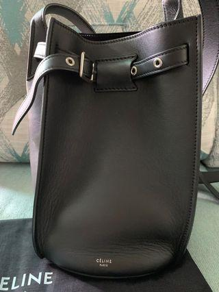 CELINE BIG BAG BUCKET WITH LONG STRAP IN SMOOTH CALFSKIN