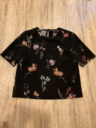 Zara Floral Crop Top