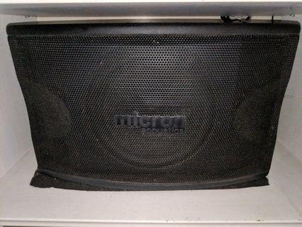 Micron acoustics speakers - 1 pair