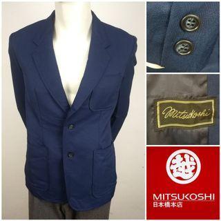 MITSUKOSHI Single Breasted Jacket Blazer