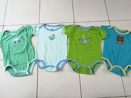 Baju bayi sleepsuit sz 6 - 9 month