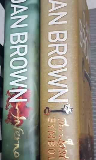 Dan Brown Books and harry porter