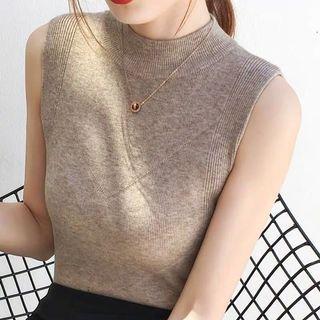 Zara Inspired sleeveless Knitted Top