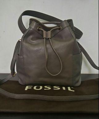 Fossil Tessa Drawstring - Grey/Lead