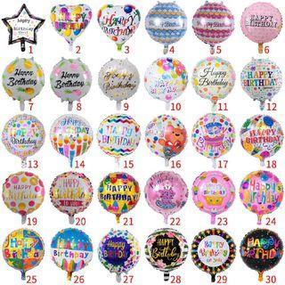 "🌹SALES🌹18"" Happy Birthday Foil Balloon"
