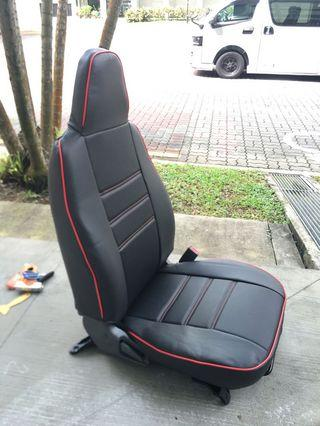 Hiace 1+2 seater leather cover (customise)