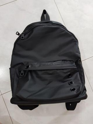 Black Backpack / haversack / lady bag water proof light weight material