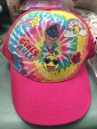 🚚 女孩棒球帽子