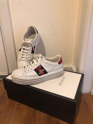 Gucci Sneakers- Shoes - Size 38