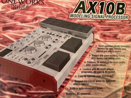 Korg AX100b 結他效果器,effect pedal (全新末開)