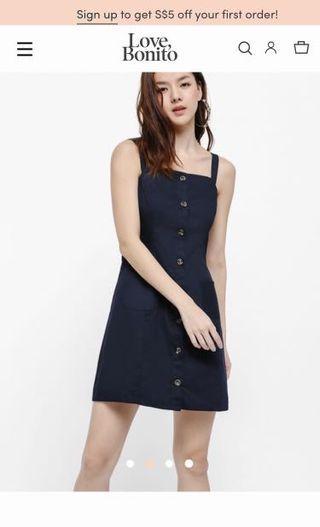 LOVE BONITO button down dress
