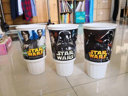 Star Wars mugs (from Burger King 2005)