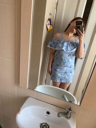 Summer dress biru