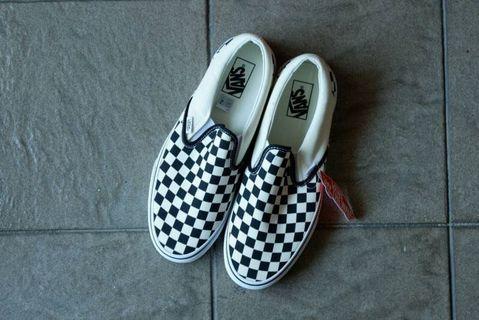 Vans Slip On Checkerboard Global