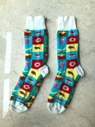 TOPMAN Colourful Food Socks 🍟