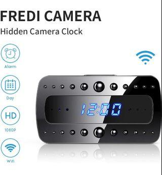 Fredi wifi spy camera clock