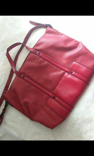 Tas Zara basic red