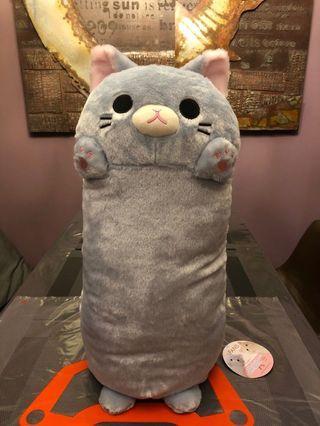 🚚 Banzai Nyanko Cat Pillow XL 50cm