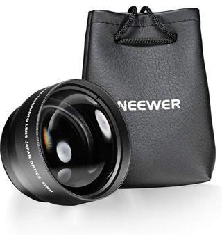 Neewer 2.2X Telephoto Lens with Microfiber Cleaning Cloth for nikon (52mm)