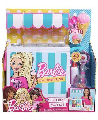 🚚 *instock* Barbie Ice Cream Cart Set