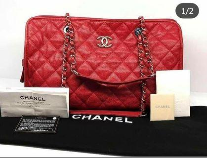 100% Authentic Chanel Caviar Tote
