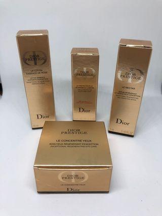 🚚 Dior精粹再生花蜜,旅行四件組
