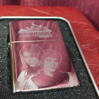 Final Fantasy XI Lighter Laser Engraved Mirror Finish Windproof Collectible