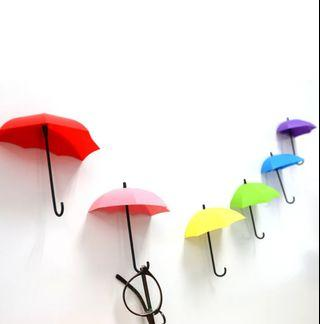 Cute Decorative Umbrella Wall Hooks