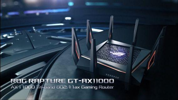 Asus ROG Rapture GT-AX11000 Tri-band WiFi6 Gaming Router