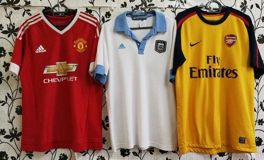 Combo Jersey Arsenal x Manchester United x Argentina