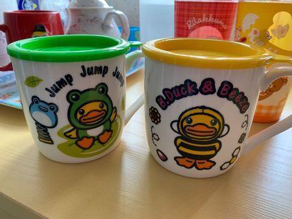 B Duck 杯 一對