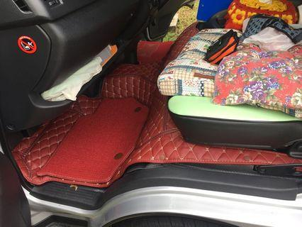Hiace hiroof 5D leather seat cover (customise)