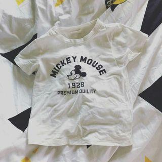 米奇老鼠 短袖T恤 衫仔 初生嬰兒BB 兒童 小童 童裝98碼 sw