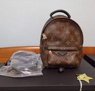100% Authentic LV Palm Spring Mini Monogram 2016