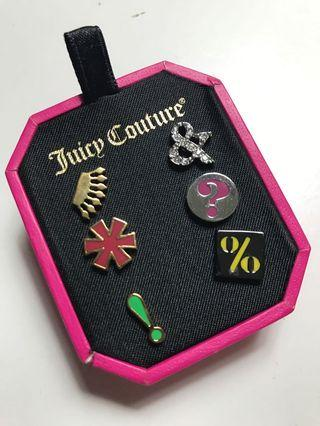 Authentic Juicy Couture Earrings (3 pairs)