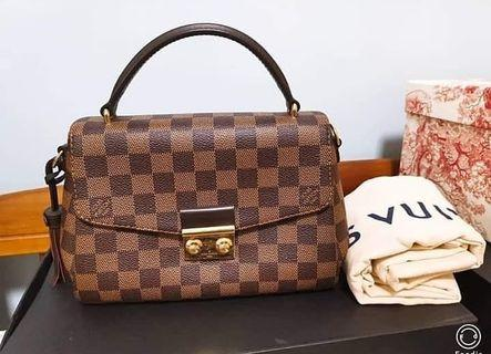100% Authentic LV Croisette Damier Ebene 2018