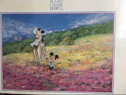 Disney character puzzle 廸士尼公仔拼圖